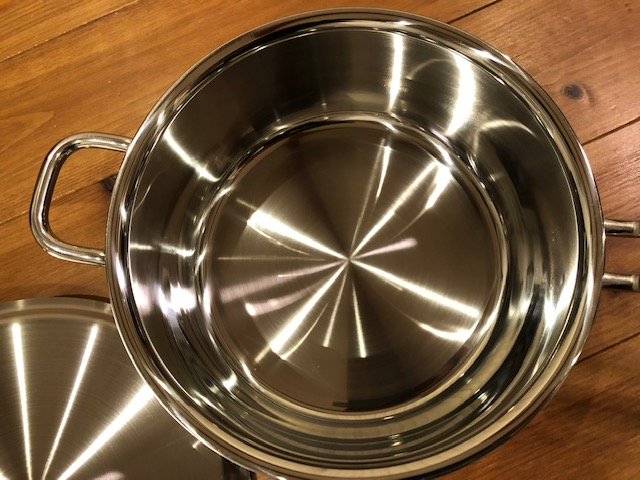 開封そいたジオシリーズの小鍋の近影